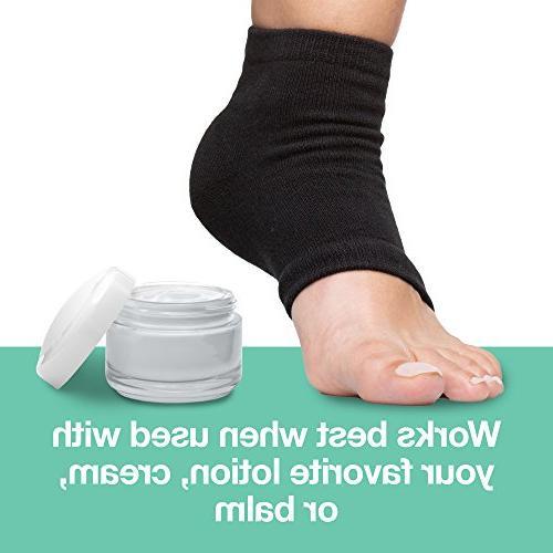 ZenToes Heel 2 Pairs Toeless Heal and Cracked Heels Sleep