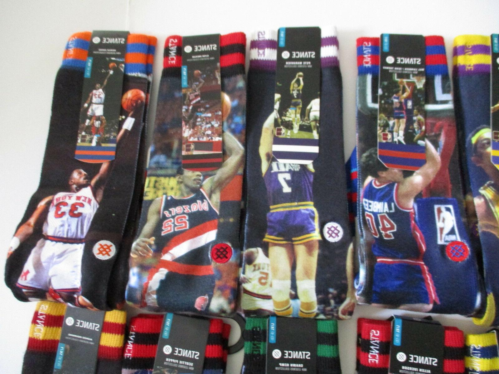 Stance Socks Mens L/XL Shaq Rodman & Many More