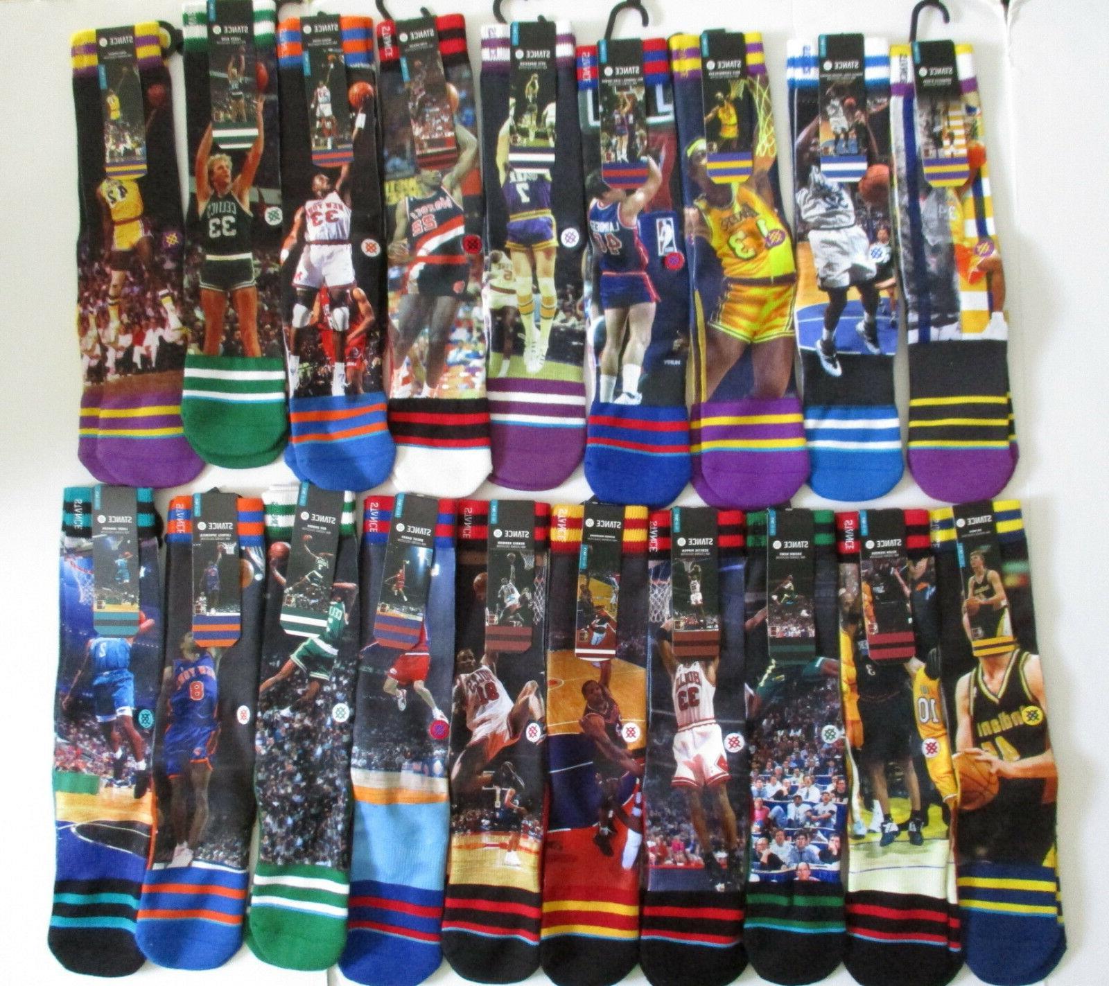nba legends socks mens l xl nwt