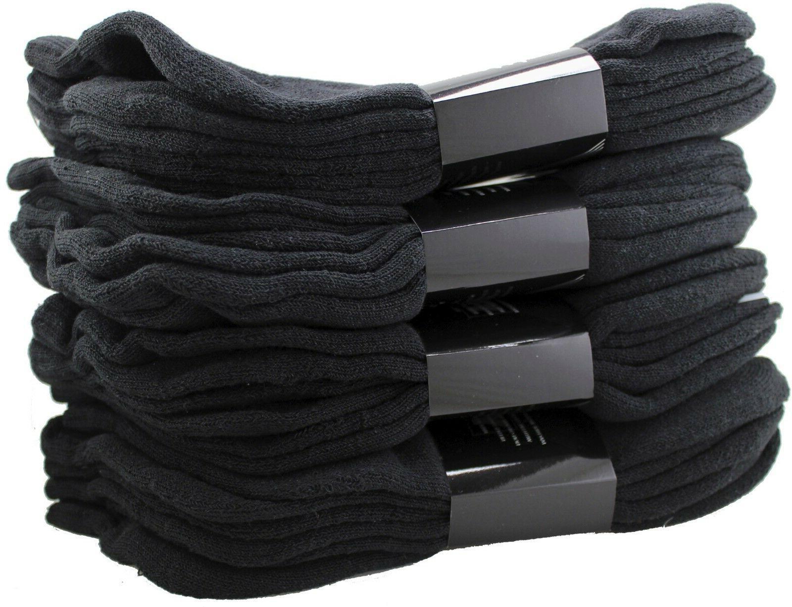 new 3 12 pairs men black ankle