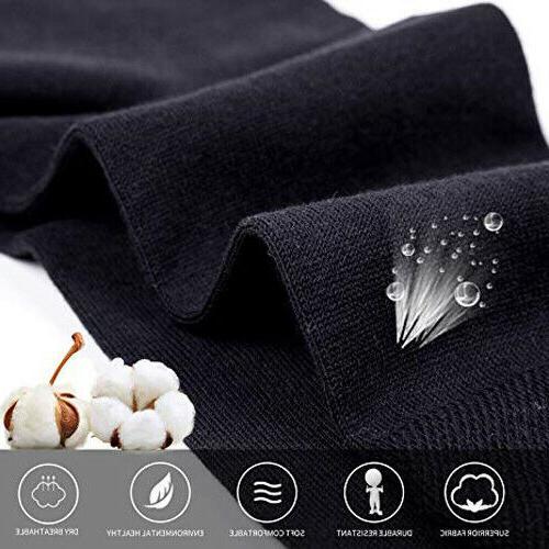 New Black Classic Dress Socks Cotton Casual Fashion Solid Sox