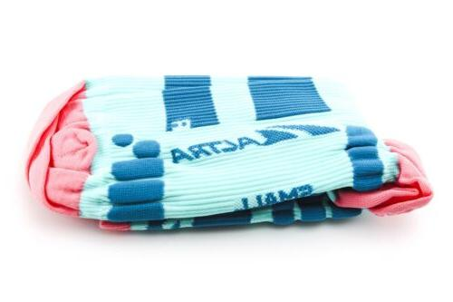 NEW Altra Compression Socks Size Small Blue Pink Running Cyc