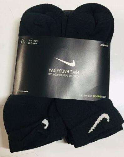 new everyday black cotton cushion ankle training