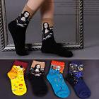 New Fashion Famous Painting Art Women Girl Lady Crew Socks N