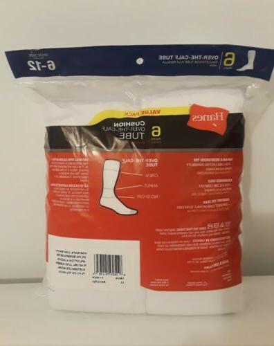 New Pack White Calf Socks Size Fresh