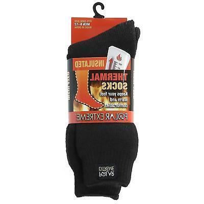 New Insulated Socks Fleece Lining