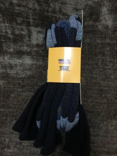 New 3 Pair Dickies Premium Boot Length Socks BLACK Sz