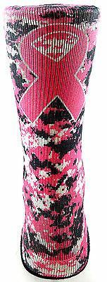 NEW Pink Digital Camo Black Breast Cancer Ribbon Football Sp