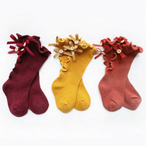 Newborn Toddler High Lace Sock Boys