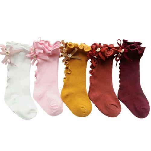 Newborn High Lace Sock Warmers Socks