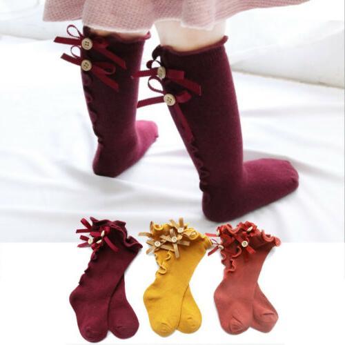Newborn Knee High Cute Sock Warmers