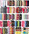 Novelty Socks Girls Sock Size 6-8 Anklet Low Cut Assorted De