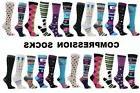 NURSE Compression Knee High Socks Womens Medical Graduated 8