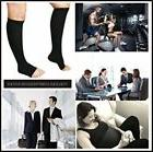 Open toe toeless Compression Socks 3 Pairs 15-20 mmHg Suppor