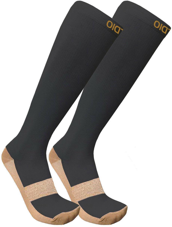 plus size wide calf 15 20mmhg knee