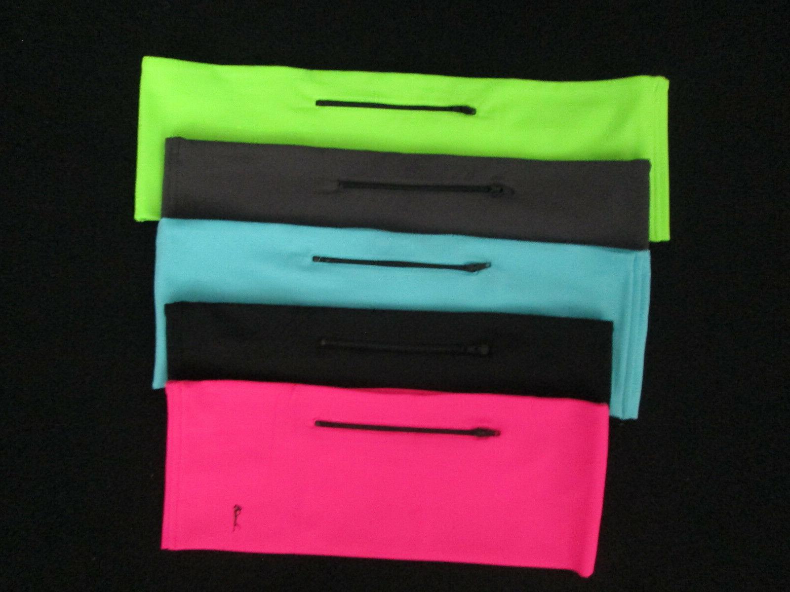 Running waist belt phone pocket 2 zipper pockets small mediu