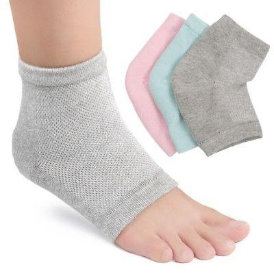 silicone gel ankle arch support socks heel