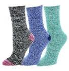 UGG SOCKS 3 Woman's Crew ANKLE BOOT $59 Multi Blue Green Bla