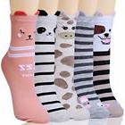 Socks Chalier 5 Pairs Womens Cute Animal Colorful Funny Casu