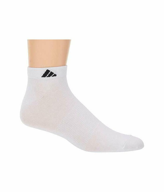 adidas Men's Low Cut Pack White socks Mens comfort