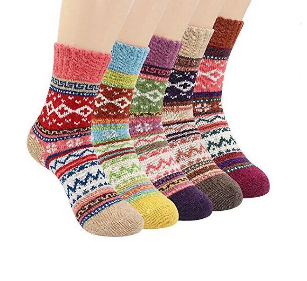 socks vintage winter thick knitting