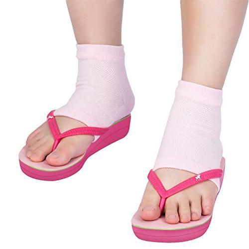 Bememo Heel Socks for Hard Cracked Pairs