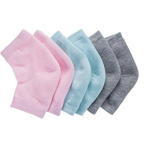 soft ventilate gel heel socks