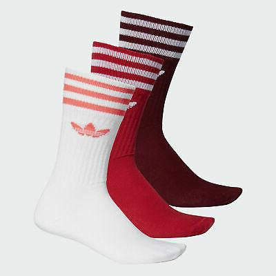 solid crew sock 3 pairs men s