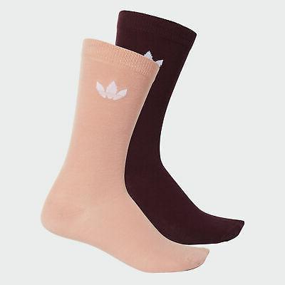 thin trefoil crew socks 2 pairs men
