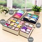 Underwear Divider Closet Organizer Storage Boxes Bra Ties So
