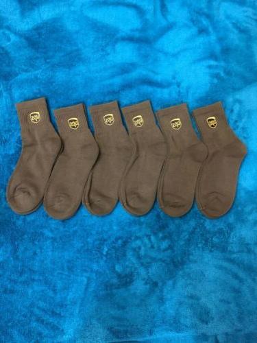 ups socks anklet size M 8-10