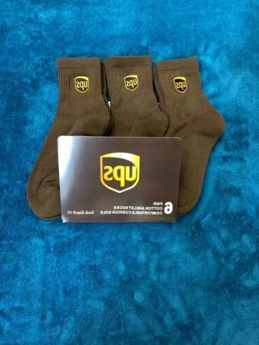 ups socks 6 pairs anklet lenght brand