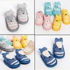 US Baby Boy Girl Unisex Crib Shoes Pram Non-slip Sole Knit S