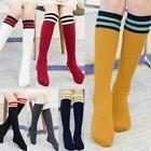 US Kids Boy Girl Sport Long Socks Knee High Stockings Baseba