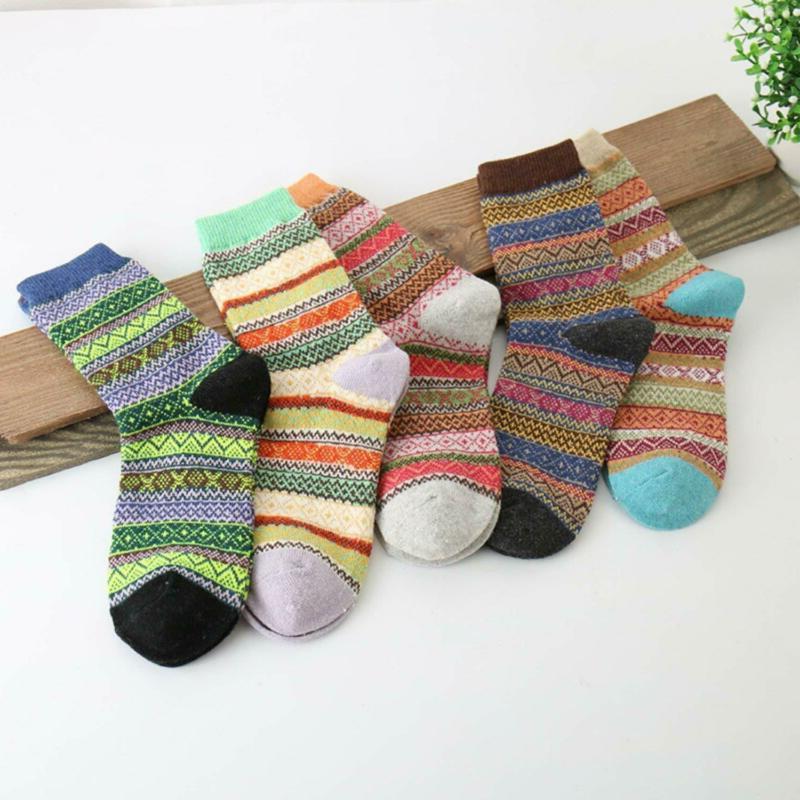Vintage Style Winter Knitting Warm Wool FREE