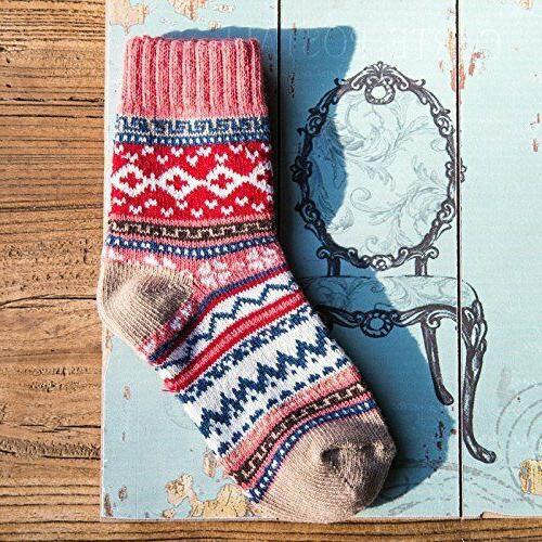 Thick Crew Socks Loritta Pairs