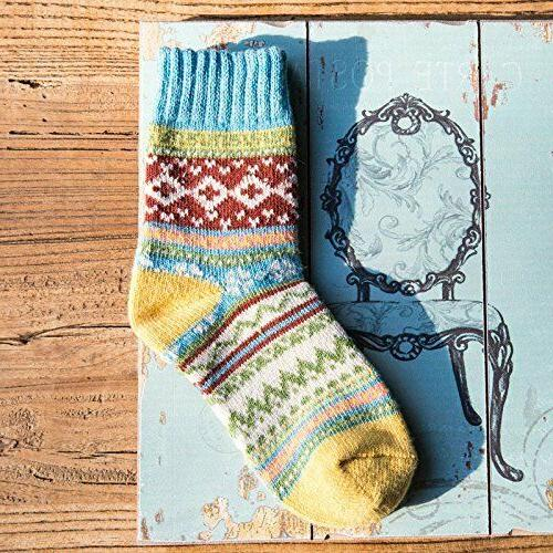 Vintage Warm Thick Wool Crew Pairs