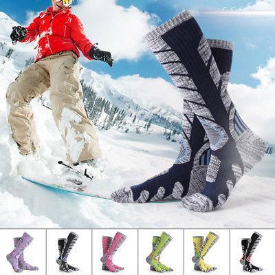 Winter Sports Unisex Long Socks Thermal Ski Snowboard Warm S