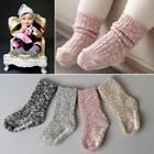 Winter Unisex Baby Kids Wool Socks Warm Thick Children Non-s