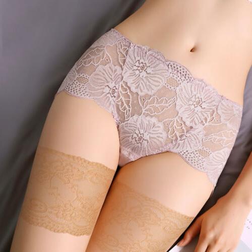 Women Elegant Lace Elastic Socks Non-Slip Anti-Chafing Thigh