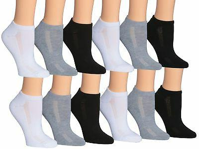 Tipi Toe Women's 12-Pairs Low Cut Athletic Sport Peformance