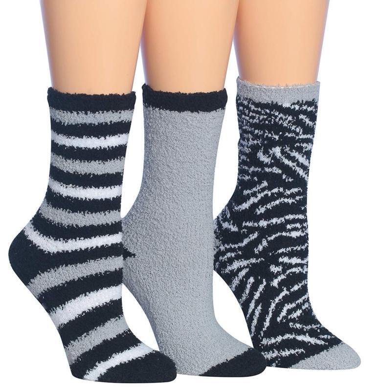 women s 3 pairs cozy microfiber anti