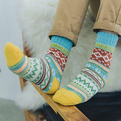 Loritta Women's Vintage Knitting Warm Free
