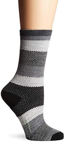 ExOfficio Women's BugsAway Brookside Park Sock, Black, Mediu
