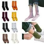 Women's High Slouch Socks Cotton Crew Ladies Assorted Colors