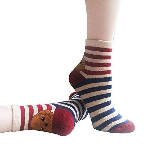 Womens Socks, 100% Cotton Socks Women, Color