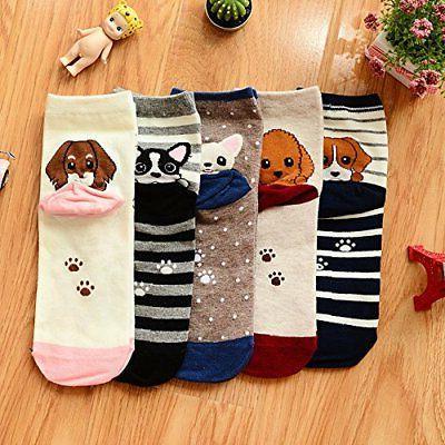YSense Cute Animal Socks, and Cotton Art Socks Women