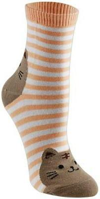 Keaza Womens Dog Cotton Socks Crew Novelty Liner Socks 5 pai