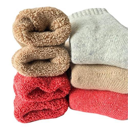 womens super thick wool socks soft warm