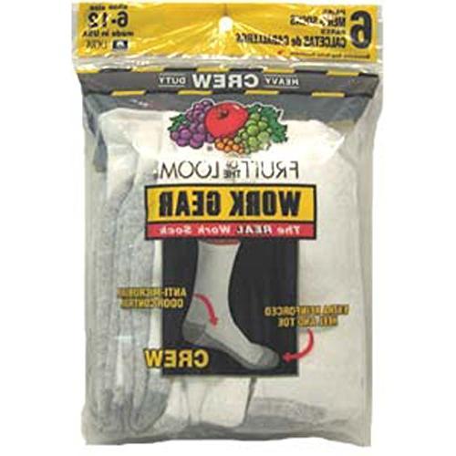 Men'S Duty Crew Sock, Pkg